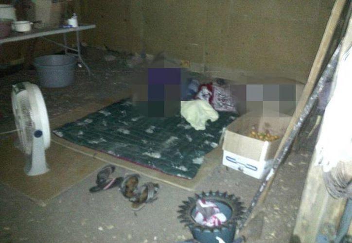 Ejecutan a 5 personas en Juchitan de Zaragoza en predio invadido por COCEI. Agresores dejan narcomensajes. (@sofyvaldivia)
