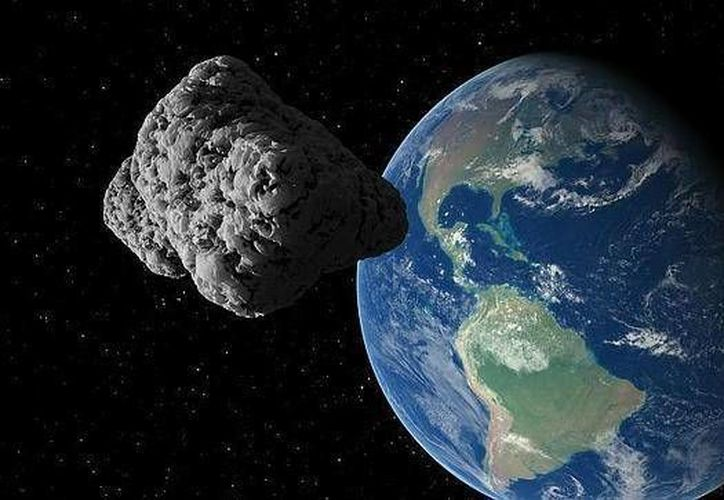 El asteroide fue descubierto el pasado domingo. (Internet)