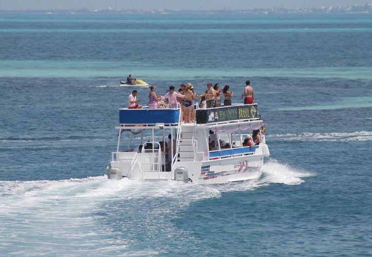 Algunas áreas serán prohibidas para la circulación de embarcaciones. (Israel Leal/SIPSE)