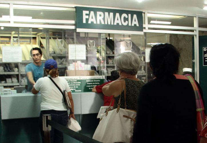 Según el IMSS Yucatán se tiene una tasa de surtimiento de recetas superior al 98%. (Foto: Milenio Novedades)
