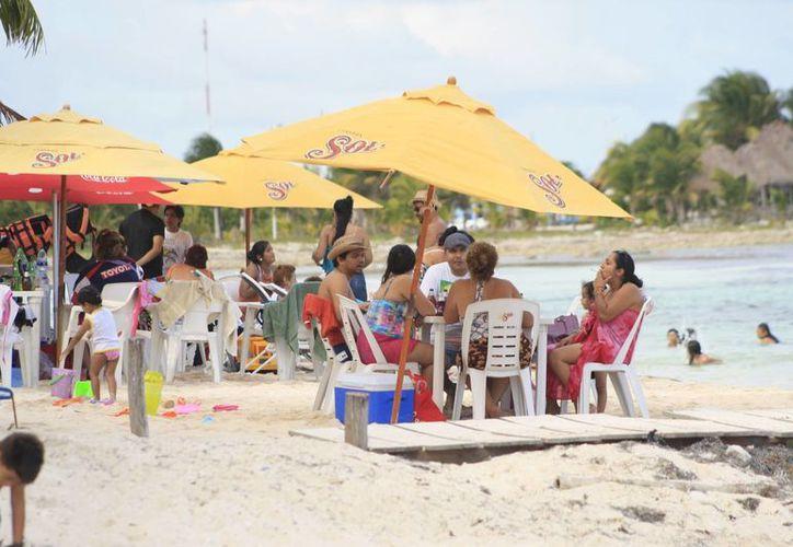 Majahual podría alcanzar un 80% quizá más porque se llevará el Torneo de Pesca, Copa Gobernador. (Redacción/SIPSE)