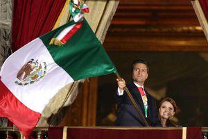 El primer Grito de Peña Nieto en México