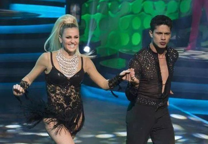 """La bailarina y cantante méxico-cubana quedó en el segundo lugar del programa """"Bailando por un sueño"""", de Televisa. (Redacción/SIPSE)"""