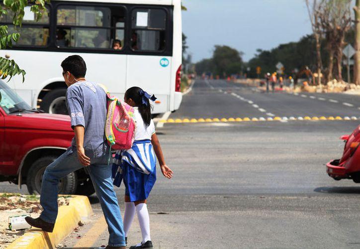 El año pasado, en ese cruce hubo alrededor de 20 accidentes. (Octavio Martínez/SIPSE)