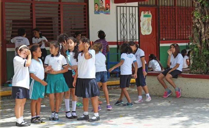 Othón P. Blanco registra 110 movimientos en Preescolar, 157 en Primaria y 69 en Secundaria, según información de la dependencia educativa. (Joel Zamora/SIPSE)