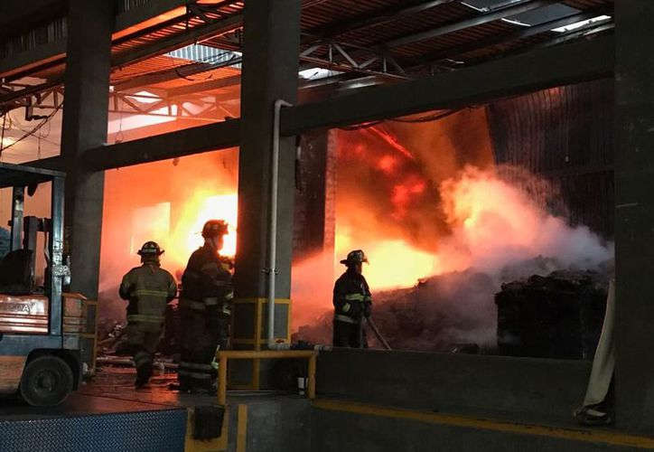 Debido a la magnitud, bomberos esperan apagar el fuego en un lapso de dos horas. (Contexto/Internet)
