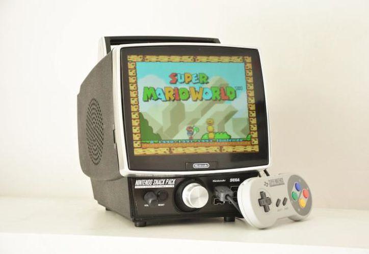 Nintendo Snack Pack soporta la entrada de vídeo AV RCA. (Redacción)