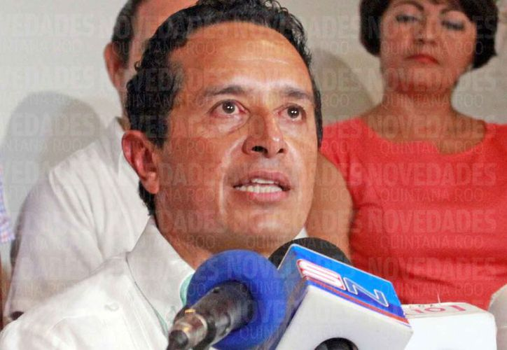 El gobernador dijo que la transparencia se debe de dar en todos los cargos donde se manejan recursos públicos. (Jesús Tijerina/SIPSE)