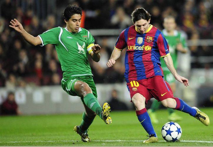 Al parecer Lionel Messi está mucho más cerca de jugar con Chelsea que nunca., En la foto, durante un partido entre Barcelona y el Rubin Kazan, en la UEFA Champions League. (Foto: AP)