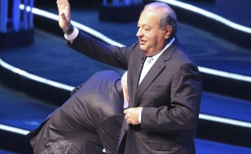 De acuerdo con Bloomberg Billionaires, la fortuna de Carlos Slim asciende a 46 mil 400 millones de dólares. (Archivo/Notimex)