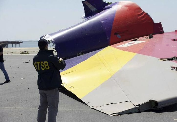 En menos de tres días se han registrado tres accidentes aéreos: San Francisco, Israel y Alaska. (Agencias)