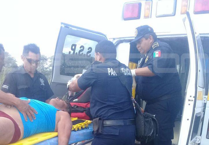 El pescador fue trasladado a un hospital de Mérida pero falleció. (SIPSE)