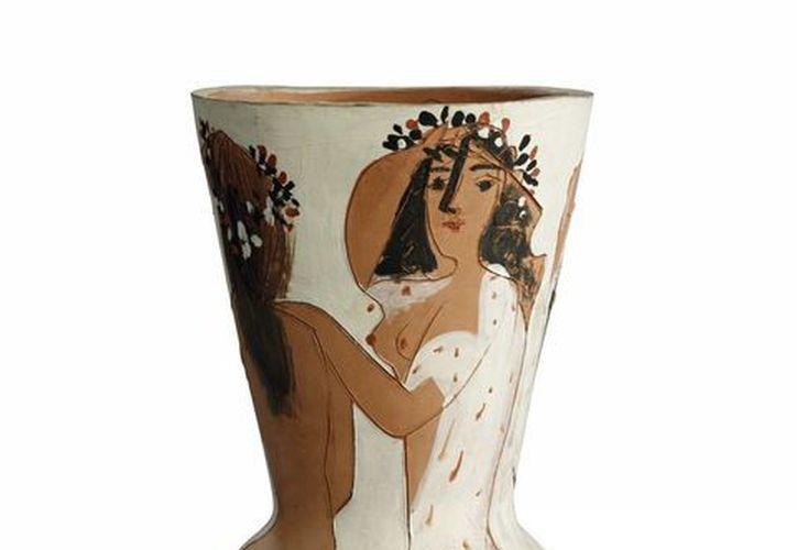 """Jarrón """"Grand vase aux femmes voiles"""" de Pablo Picasso. (EFE)"""