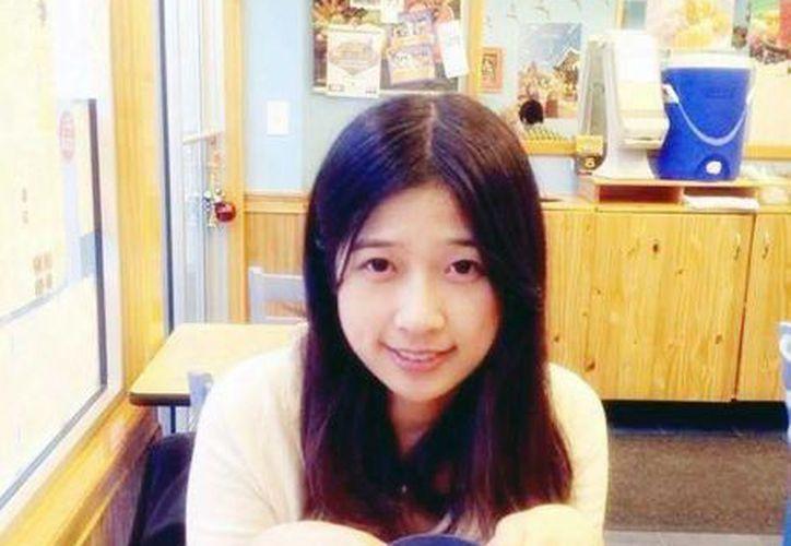Lu Lingzi, de 23 años, se matriculó en la Universidad de Boston para estudiar estadísticas. (Agencias)