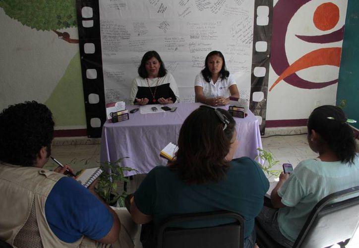 Aseguran que de las 25 personas que esperaban para los cursos de capacitación, sólo se presentaron nueve. (Tomás Álvarez/SIPSE)