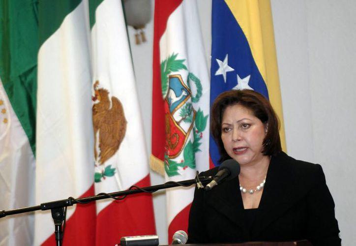 La presidenta de la Corte Suprema de Nicaragua, Alba Luz Ramos, dijo que mantener reos extranjeros resulta costoso. (EFE/Archivo)