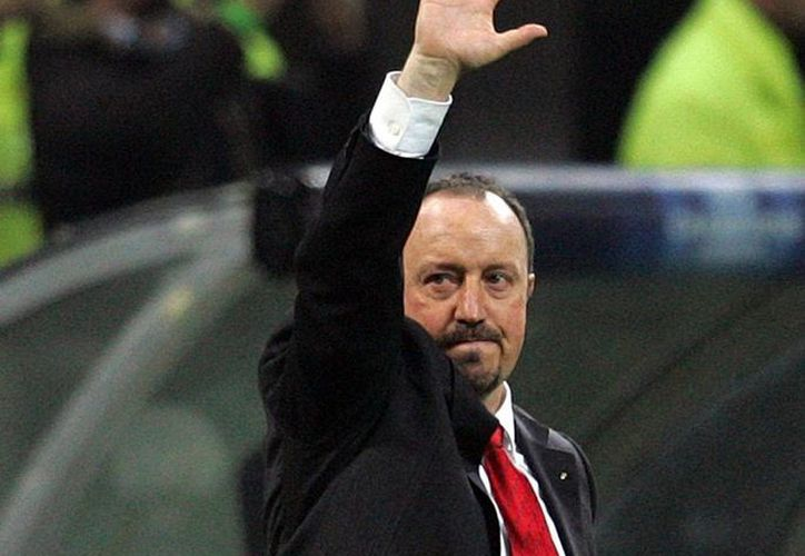 Rafa Benítez, hoy ex director técnico del Real Madrid, no llenó las expectativas de los dueños del equipo merengue. (Archivo/AP)