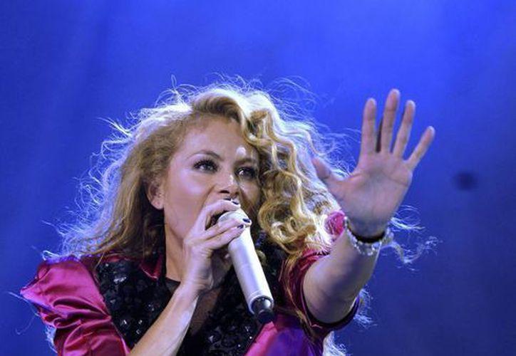 El nuevo disco de estudio sería el undécimo en la carrera de la cantante mexicana. (Foto: Archivo/EFE)