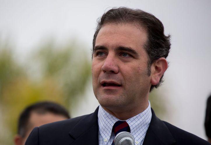 El consejero del INE, Lorenzo Córdova, manifestó que se alistan boletas para varios rangos de edad. (Cuartoscuro)