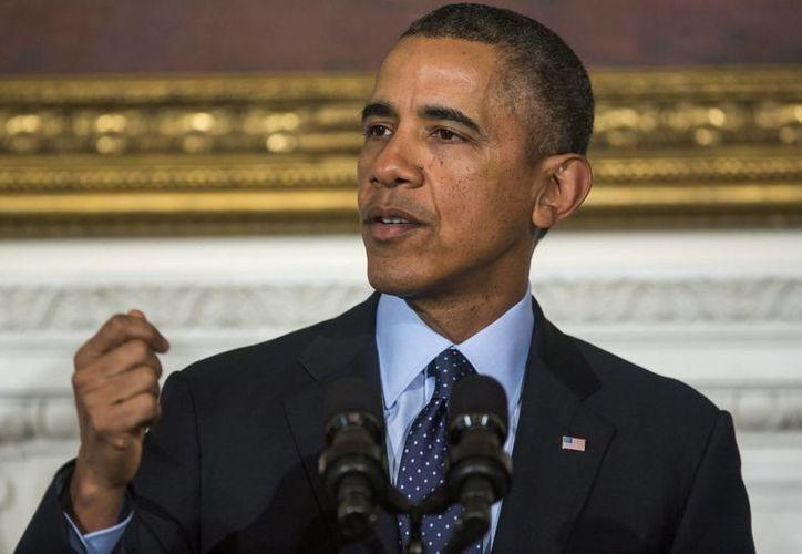 El plan de Obama es que las compañías telefónicas mantengan el control sobre esos datos y los conserven por un periodo máximo de 18 meses, como establece la legislación actual. (EFE)