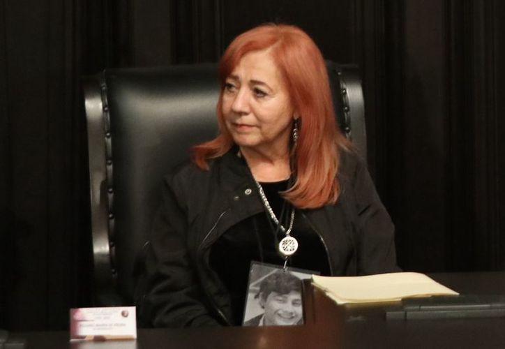 En la votación, Piedra Ibarra recibió 76 de 114 votos emitidos. (Agencia Reforma)
