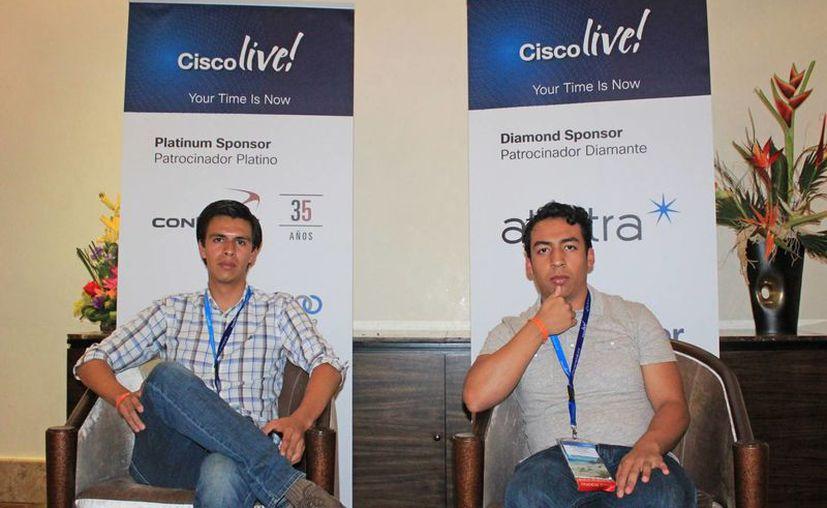 La premiación se realizó en el marco de la Inauguración de Cisco Live Cancún 2016. (Jesús Tijerina/SIPSE)