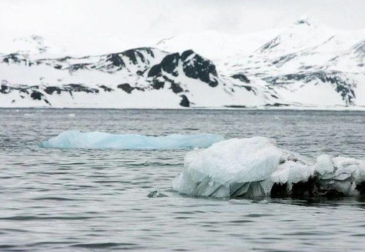 El bloque de hielo Larsen C, que se encuentra en la Península Antártica, ya ha sufrido otros grandes desprendimientos, pero ninguno tan grande como el que se prevé que ocurra pronto. (Archivo/AP).