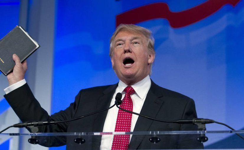 El mandatario estadounidense, prevé eliminar al mandatario de Corea del Norte, pues asegura que es mejor que él. (Foto: Contexto/Internet).