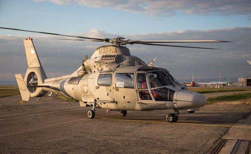 Dos Panther AS-565 MBE y un H-225 Super Puma se integran a las aeronaves con las que cuenta la Secretaría de Marina. (Facebook/Secretaría de Marina)