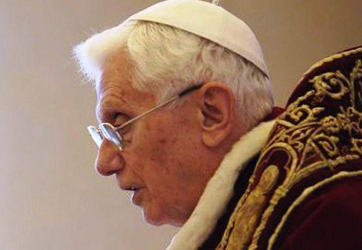 El papa Benedicto XVI dice adios a Twitter el 28 de Febrero. (Agencias)