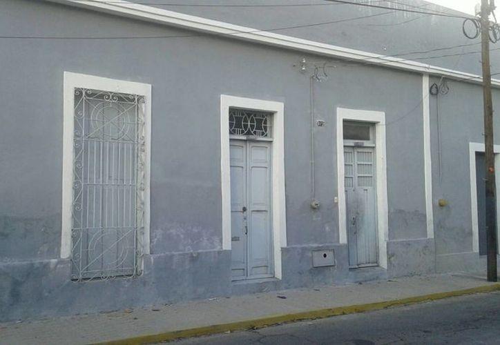 Este es el preio de la calle 51 entre 52 y 54, que fue asaltado a mano armada este lunes por la mañana. Durante el atraco una persona fue amarrada. (Foto cortesía del Gobierno de Yucatán)