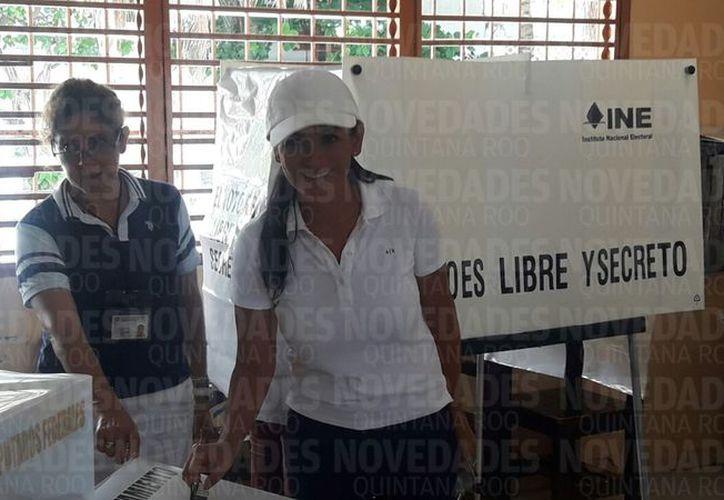 Fernández Piña, busca la reelección de la presidencia municipal de dicho municipio. (Ángel Villegas/ SIPSE)