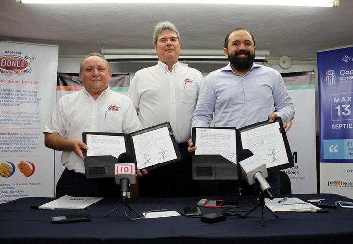 El IYEM y Aedhu firmaron un convenio con el que se busca impulsar las habilidades empresariales en el estado de Yucatán. (Archivo/SIPSE)