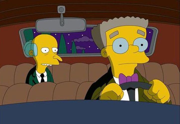 Smithers es el asistente del señor Burns. La nueva temporada de Los Simpson se estrenó este domingo en el canal estadounidense Fox.(Milenio)