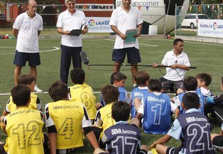 Los escogidos podrían conformar la Selección Mexicana de Futbol 7 en la Copa BBVA-Bancomer. (SIPSE)