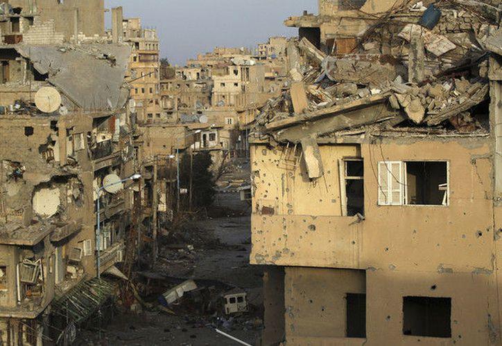El ataque dejó a centenares de civiles muertos. (Foto: Khalil Ashawi)