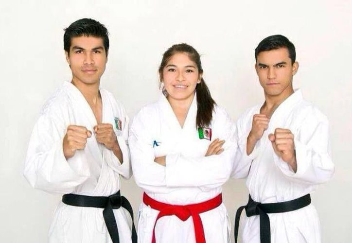 Los karatecas yucatecos consiguieron medallas de plata y bronce. (Milenio Novedades)
