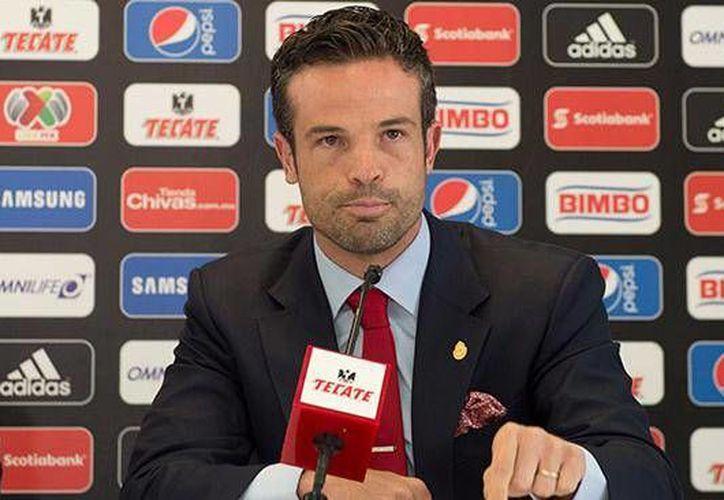 Rafa Puente Jr formó parte de la directiva de Chivas, a finales del 2014, pero no tuvo mucha suerte y fue destituido muy pronto.(Notimex)