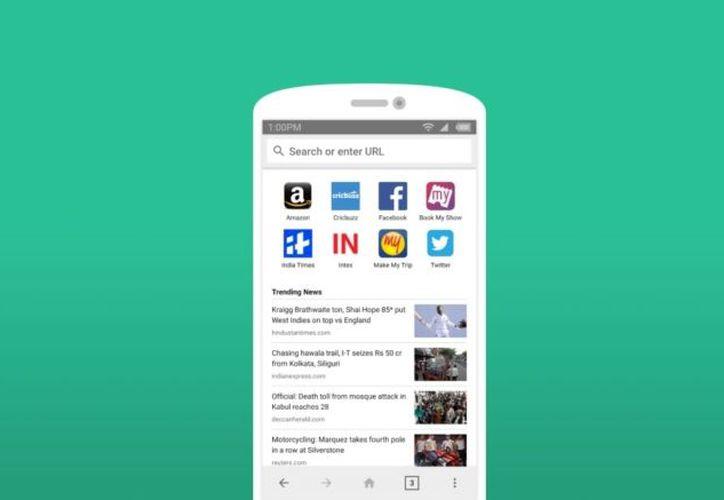 'Internet' incorpora un lector de noticias integrado y un modo de pantalla completa automático. (Foto: andro4all.com)