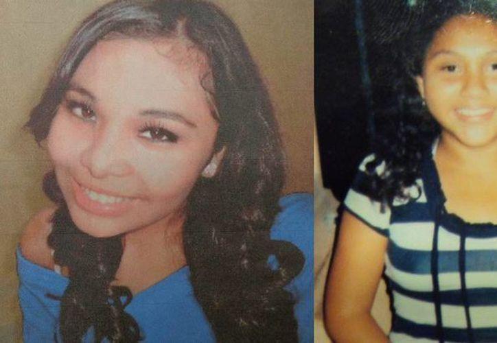 Carla (i) y Guadalupe ya se encuentran con sus familiares. (SIPSE)