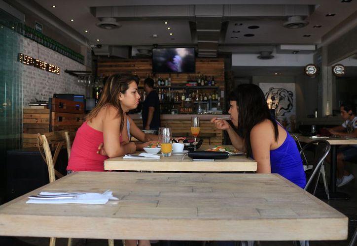 Los comestibles orgánicos que se consumen en la Riviera vienen del centro del país y la zona del Bajío. (Adrián Barreto/SIPSE)