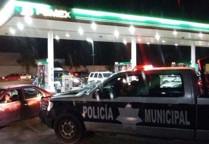 Ante las protestas violentas, Pemex pide no vandalizar gasolineras. (Daniel Pacheco/SIPSE)