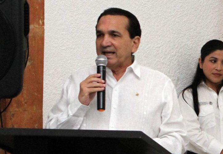 José Manuel López Campos, dirigente de la Canacome, será el presidente del Comité de los festejos de los 100 años de la fundación de la Concanaco. (Milenio Novedades)