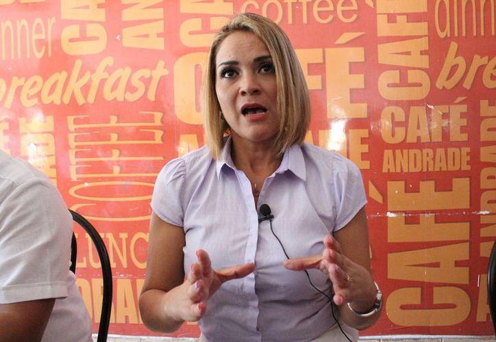 Herminia Salinas Peña, presidenta de la asociación civil Transparencia por Quintana Roo. (Adrián Barreto/SIPSE)