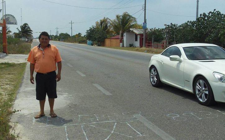 Delinean la delimitación territorial entre Ixil y Progreso. (Manuel Pool/SIPSE)
