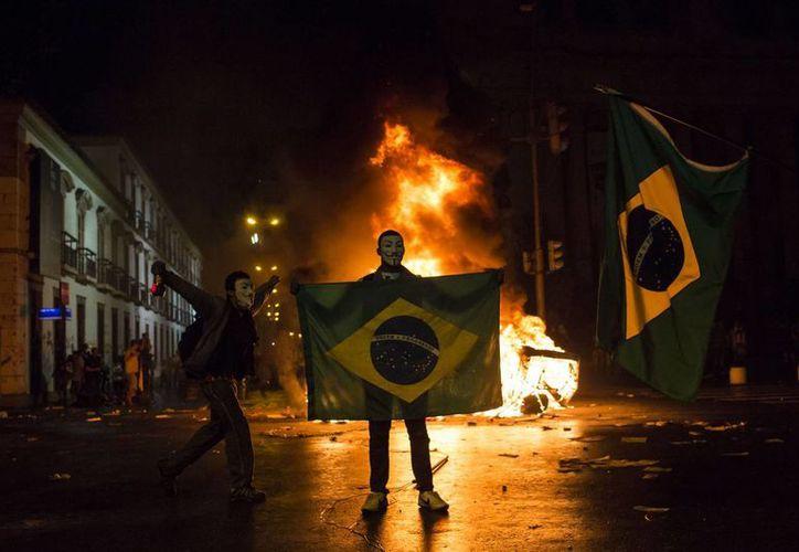 Las protestas se han extendido a una velocidad tremenda a unas 100 ciudades de Brasil. (Agencias)