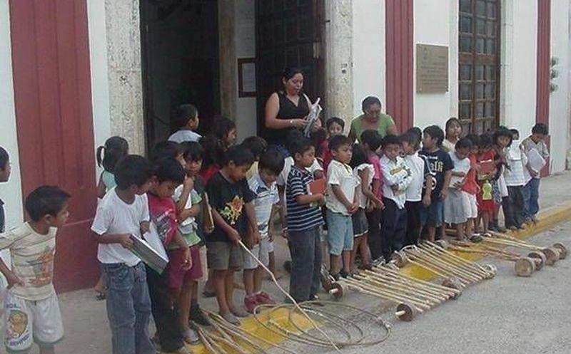 Realizan Encuentro De Juegos Tradicionales En Felipe Carrillo Puerto