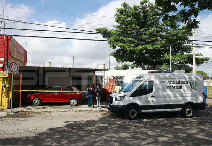 El hombre falleció en un predio ubicado sobre la Avenida Jacinto Canek. (Jorge Pallota/SIPSE)