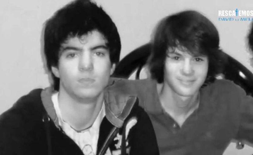 Autoridades nunca hicieron nada para saber qué fue de los dos amigos que desaparecieron en 2012. (Foto: Rescatemos a David y Miguel):