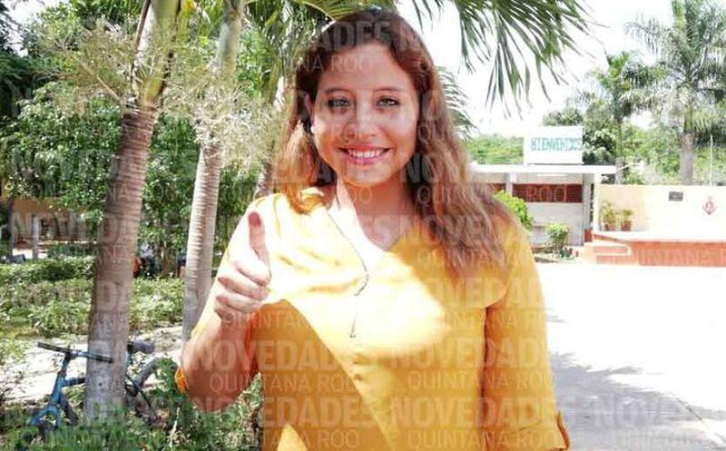 Invitó Eloisa Zetina a los ciudadanos a participar en este proceso electoral. (Fernando Duque/SIPSE)